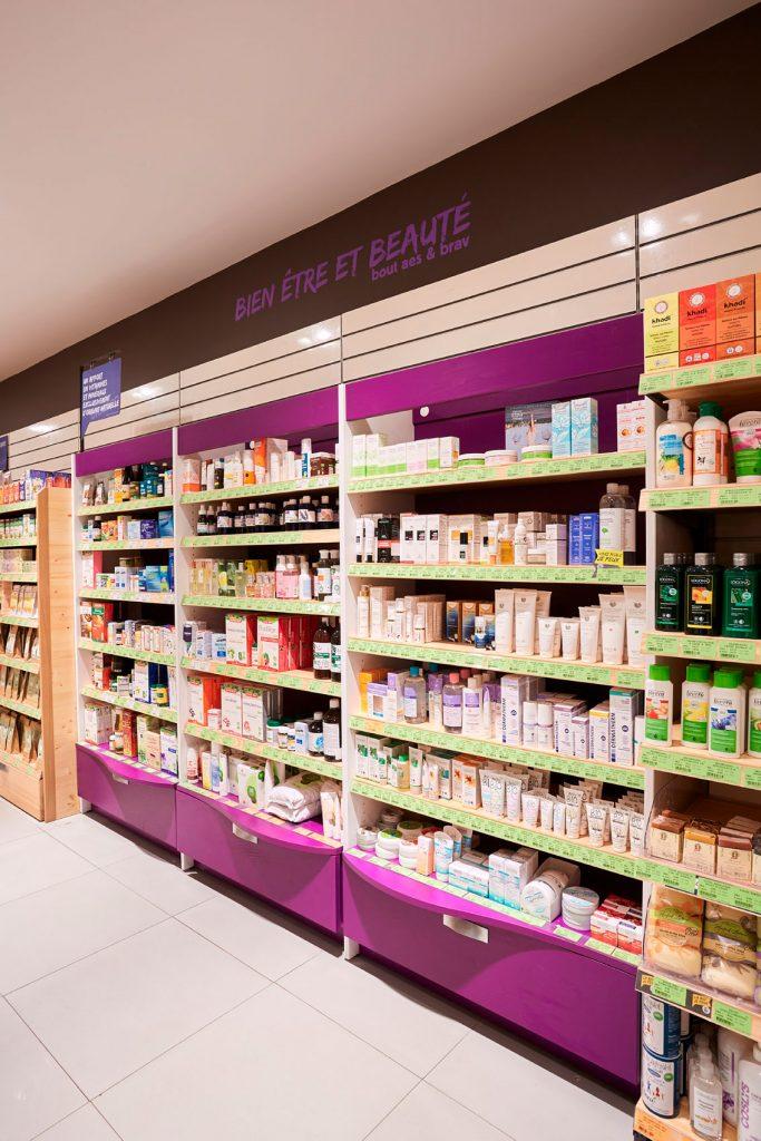 matériels professionnels de cosmétique bois