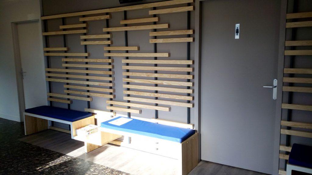 meubles décoratifs et banquettes bois