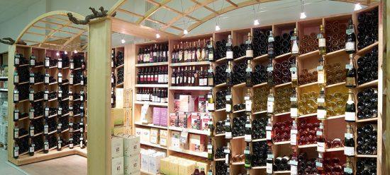 Étagères vins